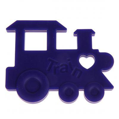 Beißring Lokomotive 'dunkelblau' 0 auf Lager