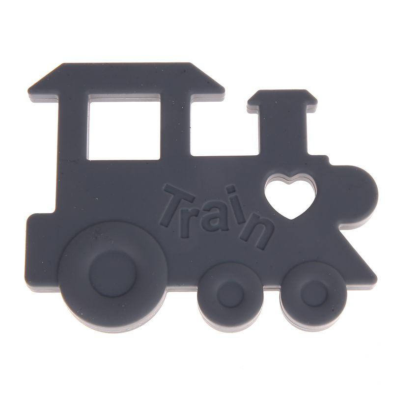 Beißring Lokomotive 'grau' 8 auf Lager