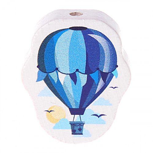 Motivperle Heißluftballon 'blau' 4 auf Lager