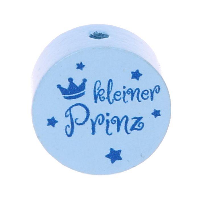 Motivperle Scheibe kleiner Prinz 'babyblau' 0 auf Lager