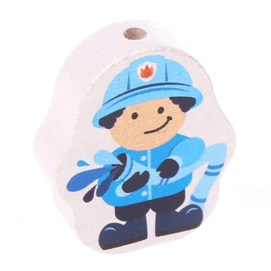 Motivperle Feuerwehrmann 'babyblau' 0 auf Lager