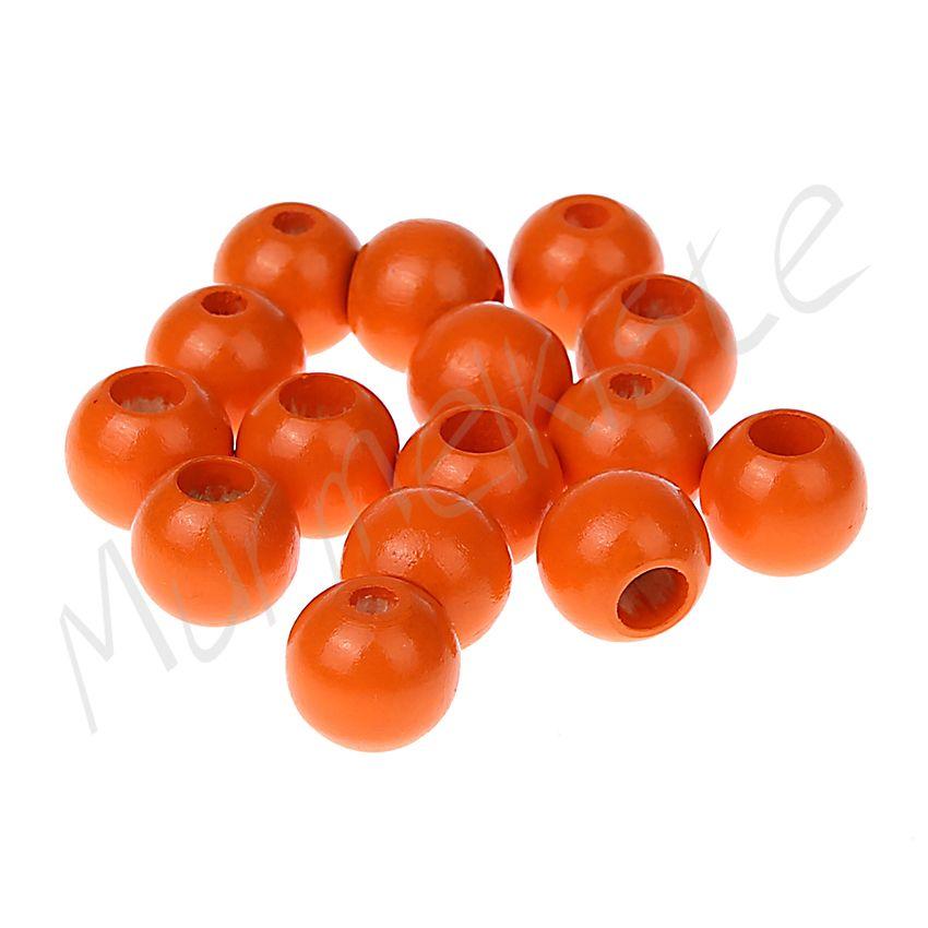 Sicherheitsperlen 12mm • 25 Stück 'mandarin' 182 auf Lager