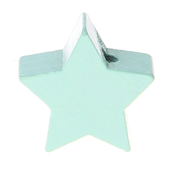 Motivperle Stern mini 'mint' 565 auf Lager